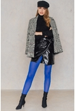 NA-KD Accessories Coloured Tights - Blue