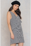 Trendyol Checked Frill Dress - Multicolor