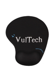 VULTECH MOUSE PAD MP-02N ERGONOMICO NERO