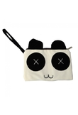 Cartoon peluche Cosmetic Bag per Kid Bianco e nero 1