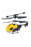 QS QS5010 3.5 Channel Infrared Semi-micro RC Helicopter Yellow