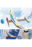 Montare Powered Modello Glider volo Falco Rubber Toy fai da te
