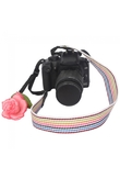 Colorful Stripe Camera Neck Strap for SLR DSLR