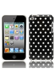 Piccola Polka Dot Back Cover per iPod Touch 4 Nero
