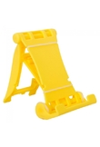 Basamento del supporto in plastica per iPad 1 2 3 4 5 iPhone 4 4S Giallo