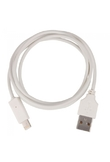 8 pin Lightning USB Cavo dati per iPhone / Nano 7 Bianco