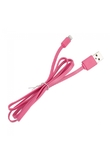 1M cavo del caricatore Piso USB per iPhone 5 iPad Mini 4 iTouch 5 Rosa
