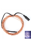 IP68 5m 6W 100LED 0603 Copper LED bianca luce di striscia dorata