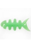 Mini Fishbone Cable Wire Winder for Earphone Cables Green