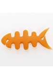 Mini Fishbone Cable Wire Winder for Earphone Cables Orange