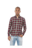 Woolrich ARCHIVE CHECK WOCAM0625 AS60 camicia uomo