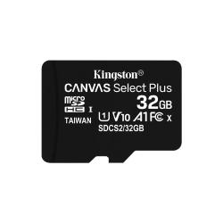 32GB MICSDHC CANVAS SELECT PLUS 100R A1 C10 + ADP
