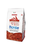 Monge Natural Puppy & Junior Agnello e Riso: 800 gr