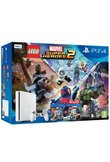 Console PS4 500GB + LEGO Marvel Avengers + Super Heroes 2