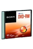 DVD Dvd-rw 2x 4.7gb slim case
