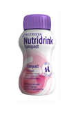 Nutridrink Compact Integratore Alimentare Gusto Fragola 4x125ml