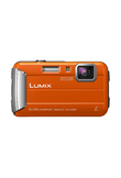 Panasonic DMC-FT30 Compact Fotocamera Digitale - Arancia (No Italiano)