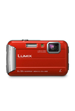 Panasonic Lumix DMC FT30 Fotocamera Digitale - Rosso (No Italiano)