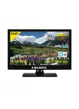 New Majestic  TVD-215 S2 LED MP10 LED TV 39,6 cm 15.6 Full HD Nero TVD-215S2