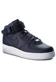 Scarpe NIKE - Air Force 1 Mid '07 315123 415 Obsidian/Obsidian/White