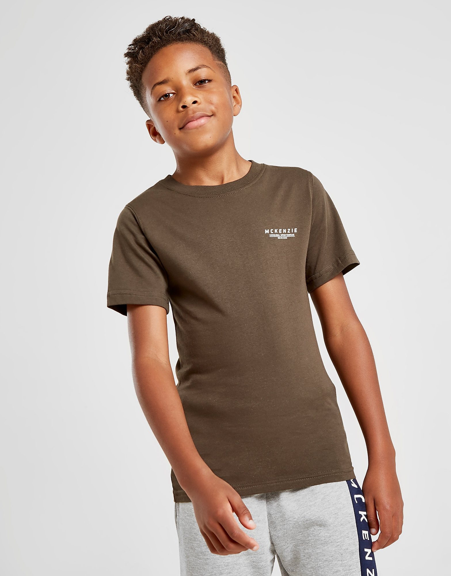 McKenzie Essential T-Shirt Junior - Only at JD, Khaki