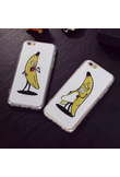 Custodia design coppia per iPhone Apple 5/6/6 Plus banane  - Donna - Iphone 5 / 5s