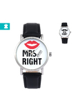 Orologio da polso per coppie Mr & Mrs Always Right - Per uomo