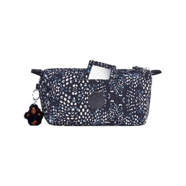 KIPLING BEAUTY CASE DONNA BLU/BIANCO