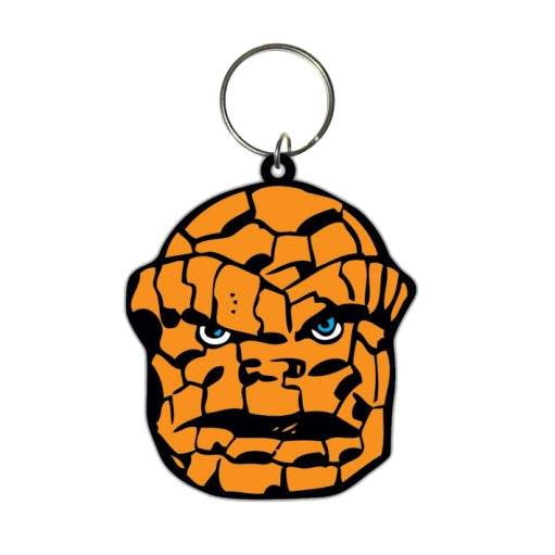 Portachiave gomma Marvel ComicsThe Thing 6 cm