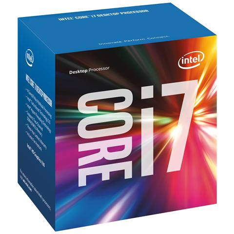 Processore Core i7-6700 (Skylake) Quad-Core 3.4 GHz GPU integrata Intel HD 530 Socket LGA 1151 Boxato (Dissipatore Incluso)
