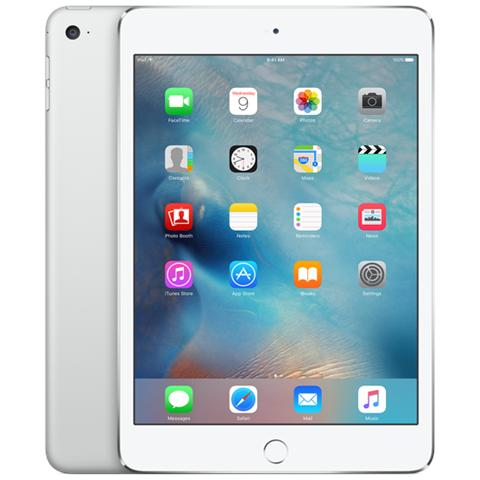 iPad Mini 4 Display Retina 7.9'' 128GB Wi-Fi + Cellular LTE Bluetooth iOS 9 - Argento