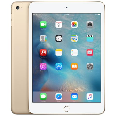 iPad Mini 4 Display Retina 7.9'' 128GB Wi-Fi + Cellular LTE Bluetooth iOS 9 - Oro