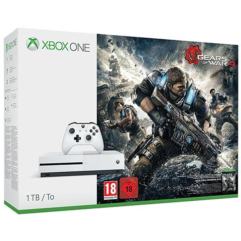 Console Xbox One S 1 TB + Gioco Gears of War 4 Limited Bundle