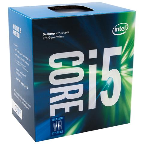 Processore Core i5-7600 (Kaby Lake) Quad-Core 3,5 GHz GPU integrata Intel HD 630 Socket LGA 1151 Boxato (Dissipatore Incluso)