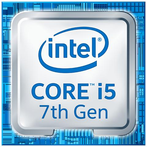 Processore Core i5-7600K (Kaby Lake) Quad-Core 3.8 GHz GPU Integrata HD 630 Socket LGA 1151 Moltiplicatore Sbloccato Tray (Senza Dissipatore)