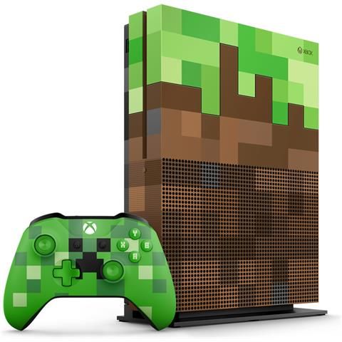 Console Xbox One S 1 Tb Minecraft Limited Edition