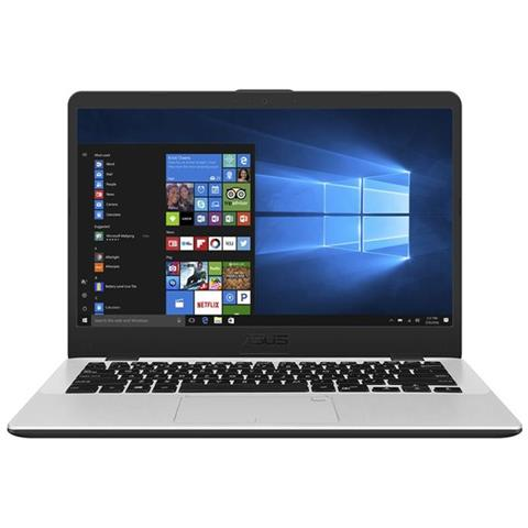 Notebook X405UA-BV325R Monitor 14'' HD Intel Core i7-7500U Ram 8GB Hard Disk 1TB 1xUSB 3.1 1xUSB 3.0 Windows 10 Pro