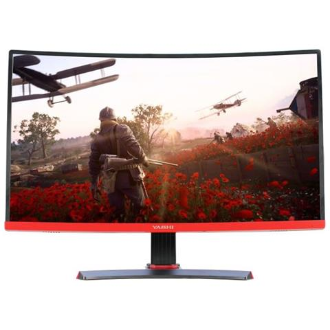 Monitor 27'' LED IPS Curvo Pioneer S 1920x1080 Full HD Tempo di Risposta 1 ms Frequenza di Aggiornamento 144Hz