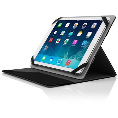 UNV-100-BLKGRY 10.1'' Custodia a libro Nero, Grigio compatibile Apple iPad Air