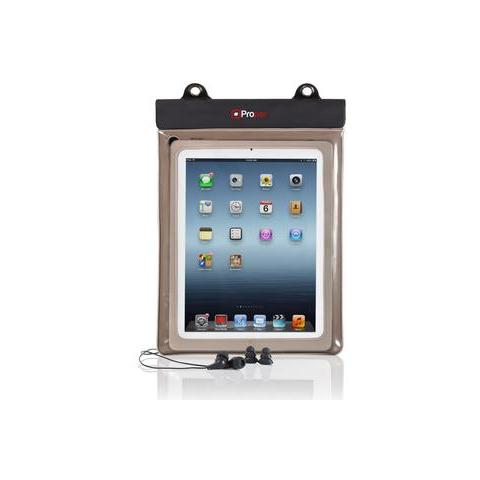 Waterproof Case inc Waterproof Earphones for 10 inch Tablets 10'' Custodia a tasca Trasparente compatibile Apple iPad Air