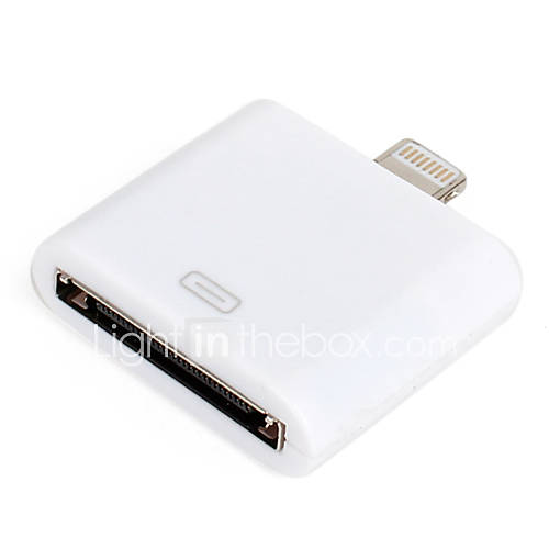 Adattatore Lightning a 30-Pin per iPhone 5, iPad Mini e iTouch 5