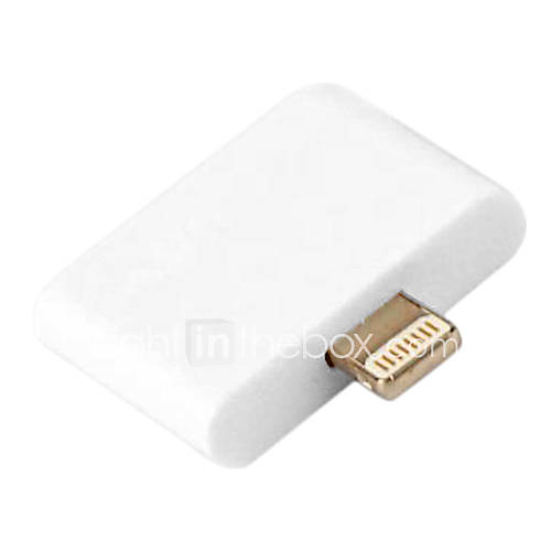 ultra piccolo e sottile 30 pin femmina a apple sync maschio a 8 pin e carica adattatore per iPhone 5 e iPad mini