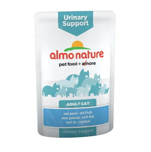Almo Nature Adult Cat Urinary Support Con Pesce 70 G