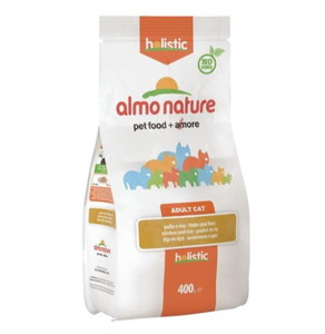 Almo Nature Cat Holistic Pollo Riso 400 G