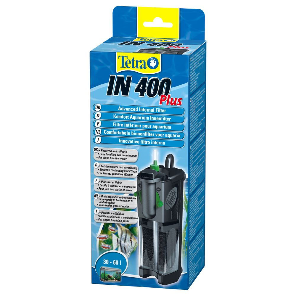 Filtro interno Tetra IN plus - IN 400 (30 - 60 L)
