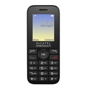Cellulare Dual Sim One Touch 1016D nero