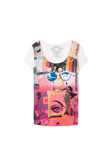 T-shirt Celestine surrealismo donna
